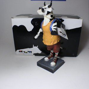 Cow Parade Travelling Cow Retired 2006 #7736